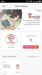 MyWifiStation - náhled