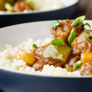 Sweet And Sour Meatballs With Pineapple Chunks Recipes