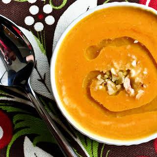 Carrot Pumpkin Soup.