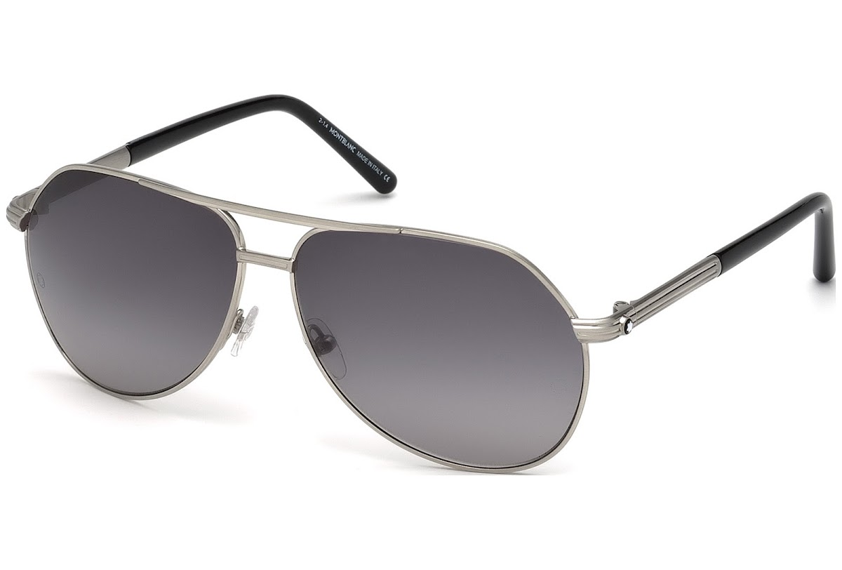 aec681d1e71 Comprar Gafas de sol Montblanc MB504S C62 17C (matte palladium   smoke  mirror)