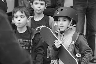 Photo: Going out skateboarding with a couple of friends.