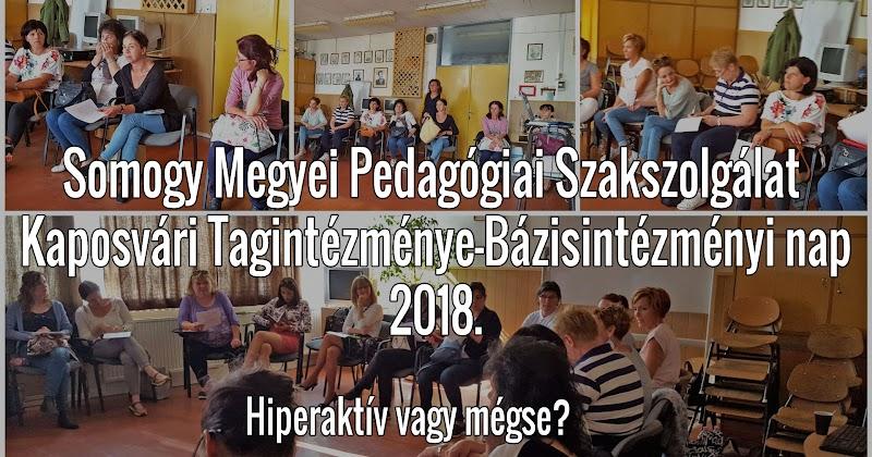 Bázisintézményi nap - 2018 május - Kaposvári Tagintézmény