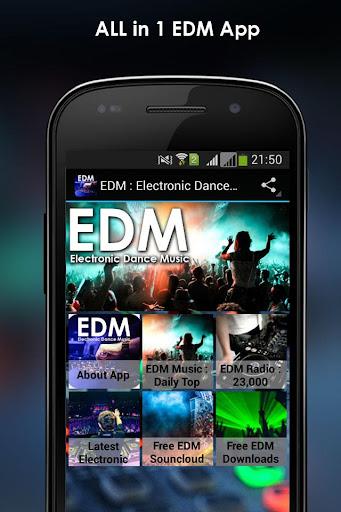 エレクトロニックダンスミュージック:EDM