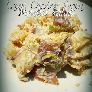 Bacon Cheddar Ranch Potato Salad.