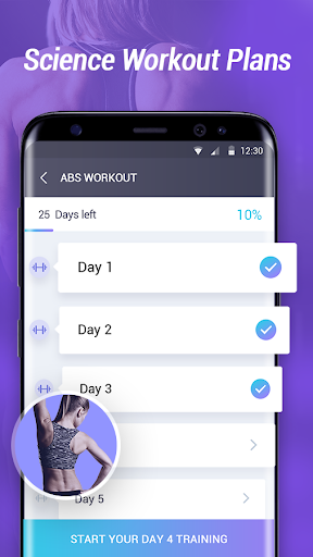 Home Workout - Abs & Butt Fitness for PC