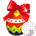 Easter Egg Color By Number - Pixel Art icon