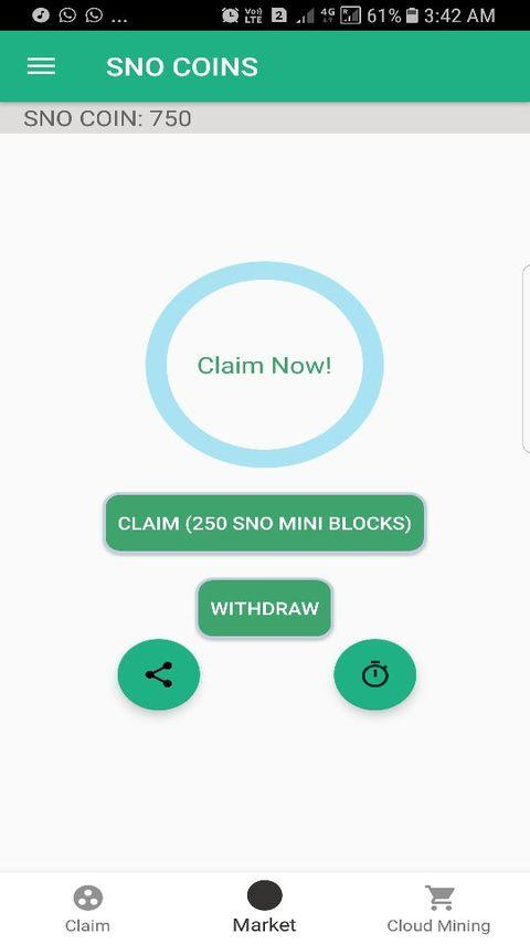 SNO COINS- screenshot