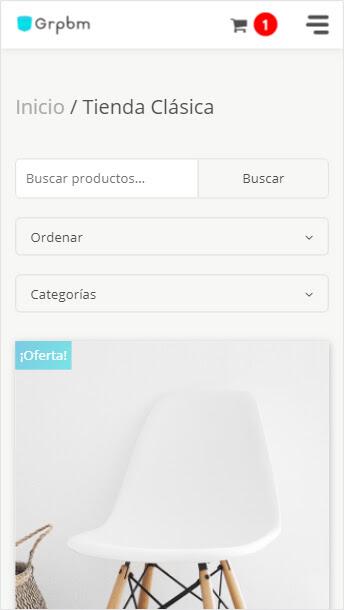 tienda online adaptable