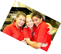 Photo: Michelle & Stella from Bulgaria,  and far right is Antonija from Croatia.