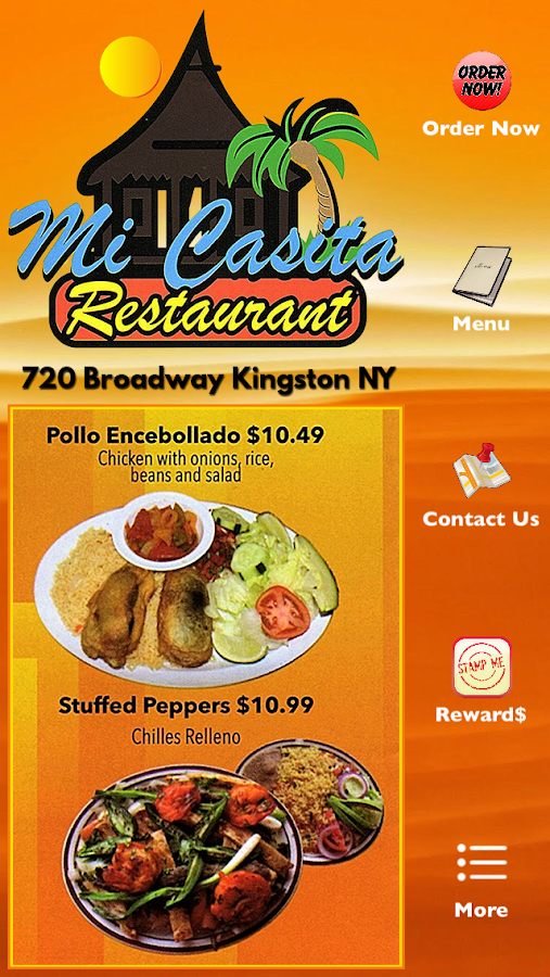 Mi Casita Restaurant Kingston- screenshot
