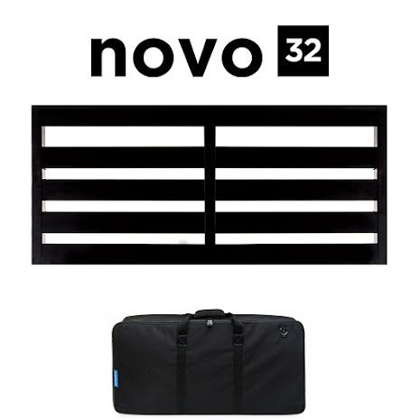 Pedaltrain Novo 32 Pedalboard with Soft Case