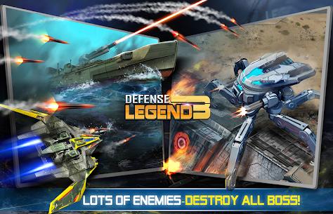 Defense Legend 3: Future War Apk Mod (Dinheiro Infinito) 7