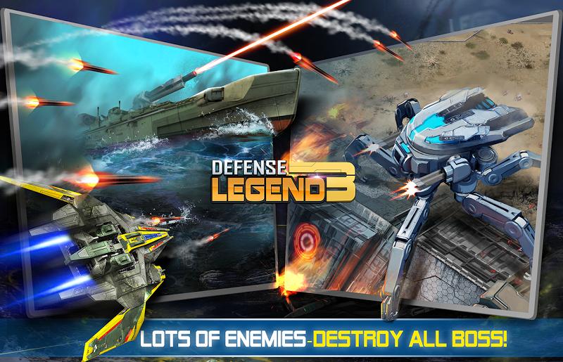 Defense Legend 3: Future War Screenshot 6