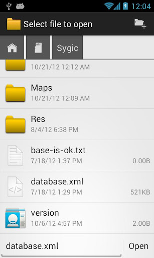 OI File Manager screenshot 3