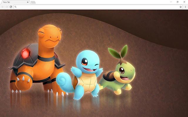 Pokemon Go New Tab & Themes
