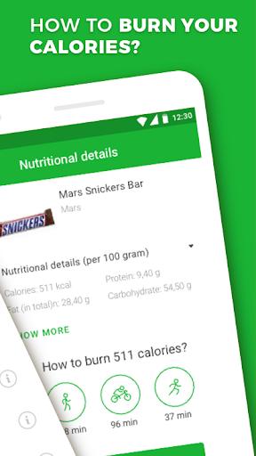 Calorie, Carb & Fat Counter 3.0.1 Screenshots 2