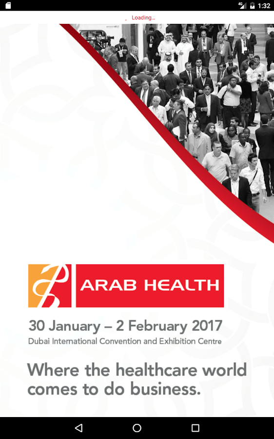 Arab Health- screenshot