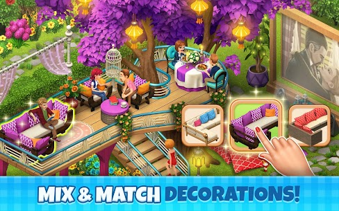 Manor Cafe Mod Apk 1.97.9 (Unlimited Money/Coins + Mod Menu) 4
