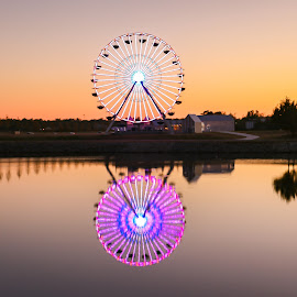 OKC Wheel by Kathy Suttles - City,  Street & Park  City Parks (  )