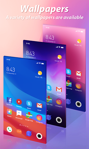 Mi Launcher-Customized themes and cool icon packs 1.0.1 screenshots 2