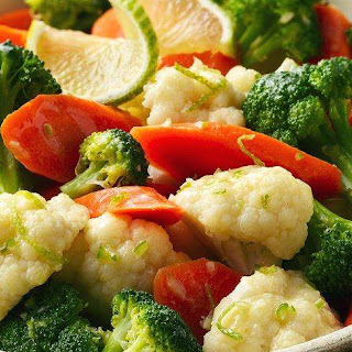 Steamed Mixed Vegetables Recipes