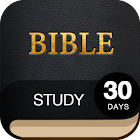 30 Day Bible Study Challenge - Offline Bible Study icon