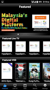 HyppTV Everywhere (phone)- screenshot thumbnail