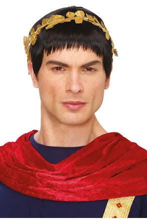 Peruk Caesar, svart