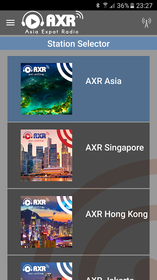 AXR- screenshot