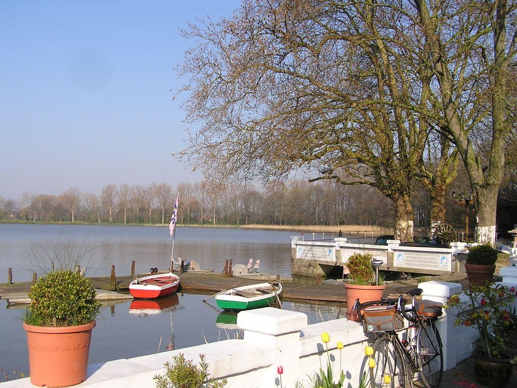 Photo: Le lac de Dikebus, au sud d'Ypres