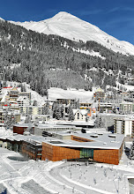 Photo: DAVOS-KLOSTERS/SWITZERLAND, 3JAN12 - Aerial view of the congress center of  Davos/Switzerland where the World Economic Forum Annual Meeting 2012 will take place January 25 - 29, 2012.Copyright by World Economic Forumswiss-image.ch/Photo by Andy Mettler