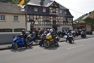 Photo: Die Abfahrt...