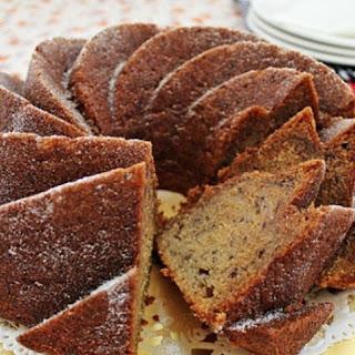 The Best Banana Bundt Cake Recipe