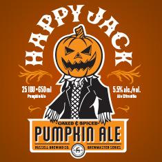 Logo of Russell Happy Jack Pumpkin Ale