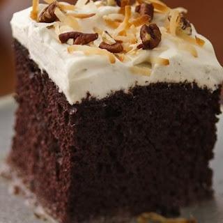 Chocolate Rum Cake.