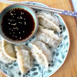 Mandu (Korean Dumplings).