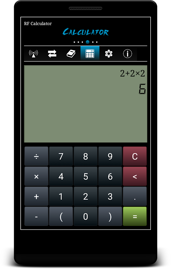 Rf Calculator Android Apps On Google Play