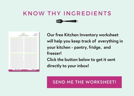Free Kitchen Inventory