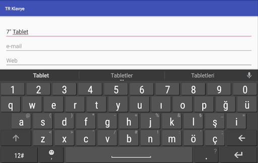 Turkish Keyboard screenshot 9