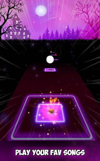 Neon Tiles Hop Color Ball : Forever Dancing Ball 1.2 screenshots 7