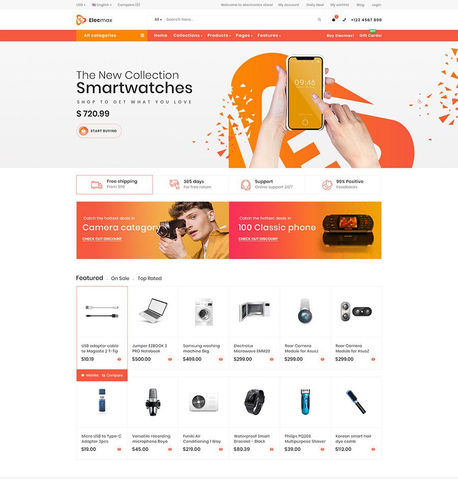 GemMart Magento marketplace theme