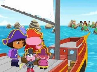 Aventures à bord d'un bateau pirate