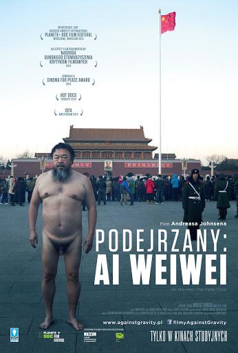 Przód ulotki filmu 'Podejrzany: Ai Weiwei'