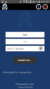 V4V - Your Trusted VPN service- screenshot thumbnail