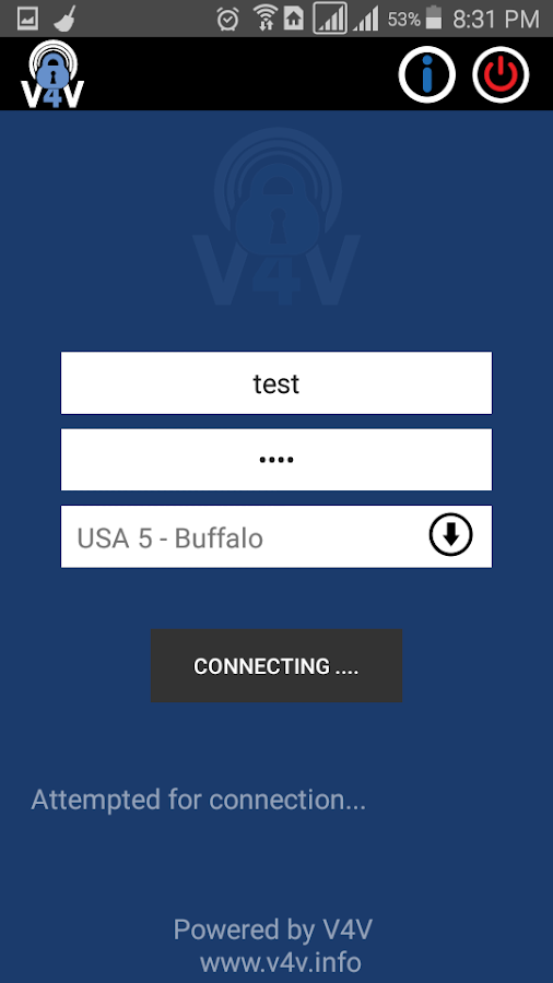 V4V - Your Trusted VPN service- screenshot
