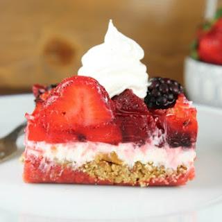 Triple Berry Pretzel Dessert