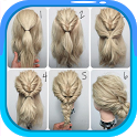 Easy Hairstyle Tutorials : Layered Haircuts icon