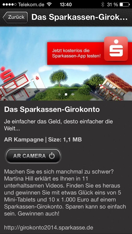 PLAKAR Augmented Reality- screenshot