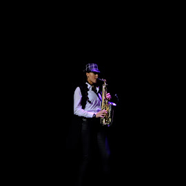 Saxophone  by Beh Heng Long - People Musicians & Entertainers ( music )