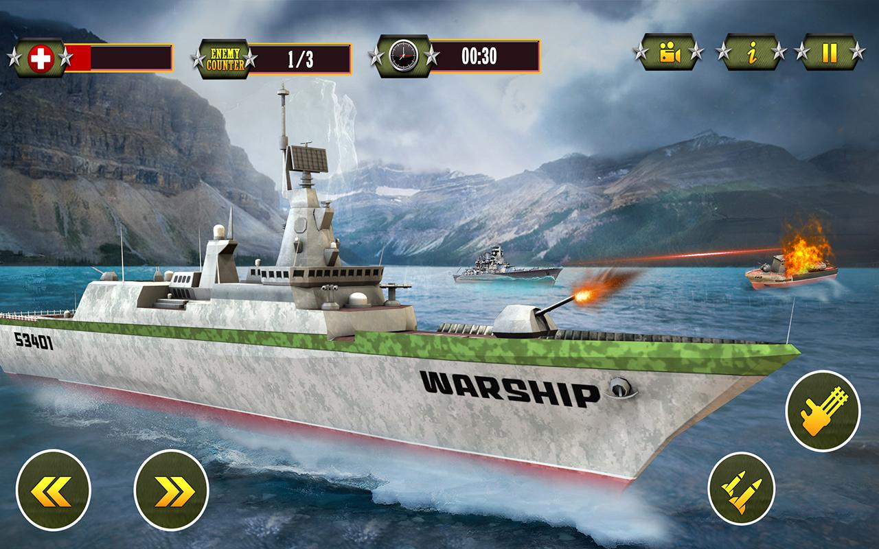 Navy Battleships War - Underwater Survival Mission- screenshot